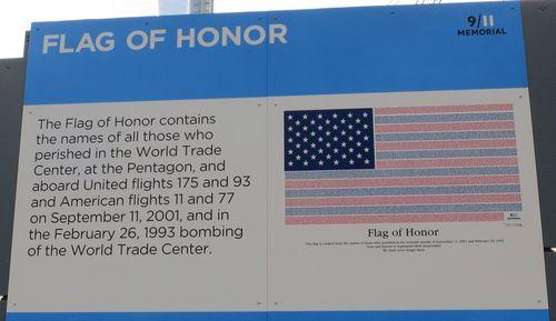 911 flag of stars